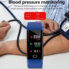 F07 Wristband Heart Rate Blood Pressure Monitor Bluetooth Smart Watch IP68 Water Proof Swim Fitness Tracker For Android And IOS Phone - intl
