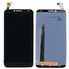Fancytoy LCD Display Digitizer Layar Sentuh untuk Alcatel One Idol 2 OT6037 6037 (Hitam)