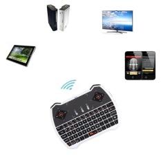 Fashion Mini 2.4G Wireless Keyboard Touchpad untuk PC Android TV X-BOX WH-Intl