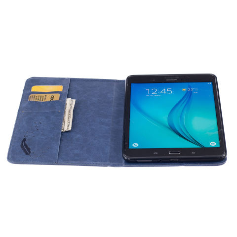 Leather Case with Three-folding Holder for Samsung Galaxy. Source ·