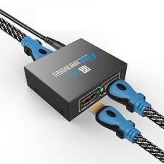 Fittek HDMI Splitter. Sinyal HDMI Splitter. Pemisah HDMI. HDMI Saklar. 1x2 Pemisah HDMI. HDMI Saklar Kotak. HDMI Saklar Splitter Fittek-Intl