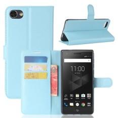 Flip PU Dompet Kulit Cover Case untuk BlackBerry Motion-Intl