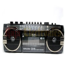 Focus Radio Cassette Recorder Tape Sonatec PR -259 USB-SD Card AM-FM Radio