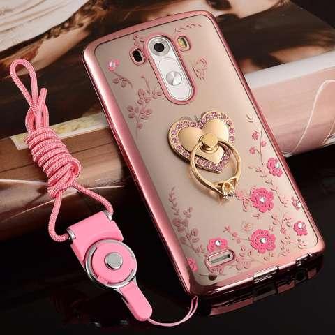 """untuk LG G3/D858 5.5 """"inch Case Luxury 3D Soft Plastic Case Coque untuk"""