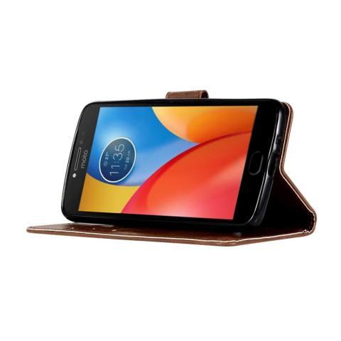 Pola dompet slot kartu kupu kupu PU kulit untuk menutupi kasus Samsung Galaxy . Source ·