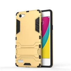 For OPPO A33 / Neo 7 Hybrid 2 in 1 Hard PC Soft TPU Iron Man Case Shockproof Bracket Robot Armor Hard Back Phone Case - intl