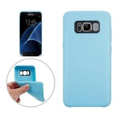 untuk Samsung Galaxy S8 +/G9550 Klasik Permukaan Halus Lembut TPU Pelindung Case, Kecil Kuantitas Dianjurkan Sebelum Samsung Galaxy S8 Plus Launching (Biru)-Intl