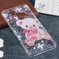 For Samsung Galaxy S9 Bear Pattern TPU Soft Protective Back Case, Small Quantity Recommended Before Samsung Galaxy S9 Launching - intl