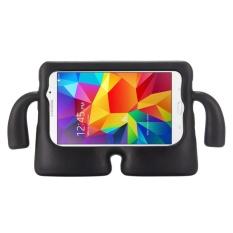 untuk Samsung Galaxy Tab 4 7.0/T230 dan Tab 3 Kids/Lite Universal Kecil Orang TV Model EVA Bumper Pelindung Case (Hitam) -Intl