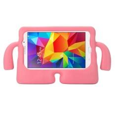 untuk Samsung Galaxy Tab 4 7.0/T230 dan Tab 3 Kids/Lite Universal Kecil Orang TV Model EVA Bumper Pelindung Case (Pink) -Intl