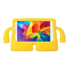 untuk Samsung Galaxy Tab 4 7.0/T230 dan Tab 3 Kids/Lite Universal Kecil Orang TV Model EVA Bumper Pelindung Case (Kuning) -Intl