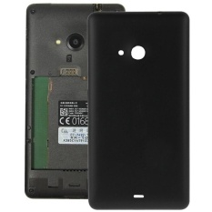 Frosted Surface Plastic Back Housing Cover Replacement For Microsoft Lumia 535(Black)