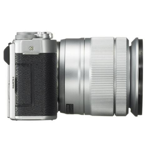 Fujifilm Camera - X-A10 Garansi Resmi Fujifilm - Silver 2