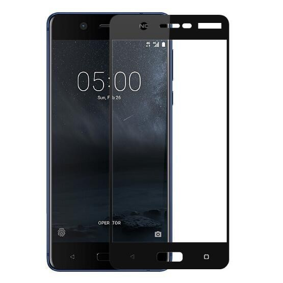 Vn Full Cover Nokia 5 | Premium 9H Tempered Glass 4D Screen Protector Film 0.32mm