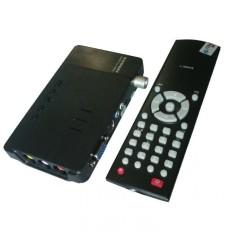 Gadmei Tv Tuner CRT 3810E Support LCD – Hitam
