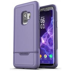 Galaxy S9 Tough Case, Encased [Rebel Series] Rugged Case for Samsung Galaxy S9 (2018 Release) Military Spec Armor Protection (Deep Purple) - intl