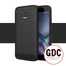 GDC Carbon Shockproof Hybrid Case For Motorola Moto G5s Plus - Black