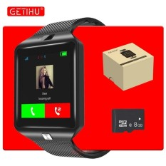 GETIHU Bluetooth DZ09 Smartwatch Sport SIM Digital Camera Wrist Phone Smart Watch Men For Apple Android Wach Wearable Devices - intl
