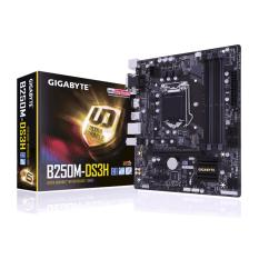 Gigabyte Motherboard GA-B250M-DS3H - Socket 1151 DDR4 - Hitam