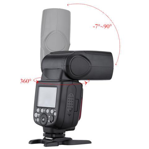 GODOX TT685C E-TTL 2, 4g Master Nirkabel Budak Speedlight Senter Speedlite For Canon EOS 650D 600D 550D 500D 5D Mark III Senter Speedlite 3