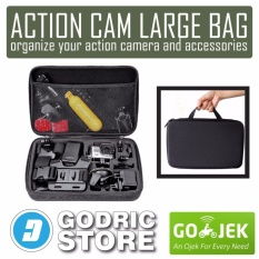 Godric Action Cam Large Size Bag/Tas/Case for Xiaomi Yi, GoPro & BRICA B-PRO