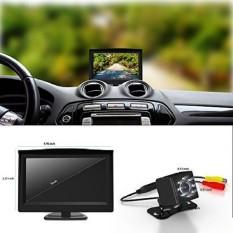 GOGO ROADLESS AC00011 Mobil LED Car Backup dan Monitor Kit-Intl
