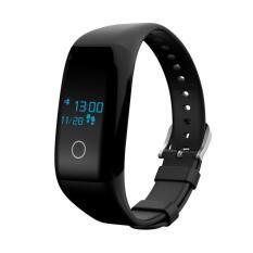 Emas Neon Smart Gelang Pedometer Deteksi Mendukung IOS Bluetooth Tahan Air Jam Tangan Pintar Smart Gelang Di Watch Android Jantung Running-Intl