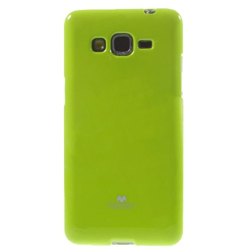 Goospery Mercury Jelly Case for Samsung Galaxy E5 - Hijau