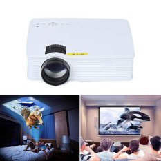 GP9S Portable LED Proyektor Home Theater Beamer Multimedia VGA HDMI TV SD AV USB-Intl