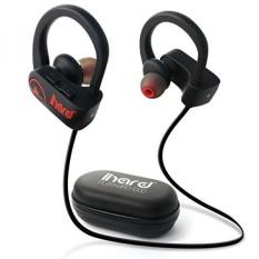 GPL/ihard headphone Bluetooth, Earbud Nirkabel Terbaik With MIC IPX7 Tahan Air, Tahan Keringat, Headset Aman Cocok untuk Olahraga, Lari, Gym Latihan 8 Jam Suara HD Stereo earphone Membatalkan Derau/dikirim dari USA