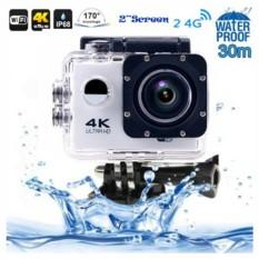 Grade AA Action Camera 4K+ UltraHD - 16MP - WIFI - Silver