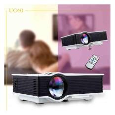 Bagus Terang UNIC UC40 LCD Mini Home Cinema Proyektor HD 1080 P dengan Kabel-Internasional