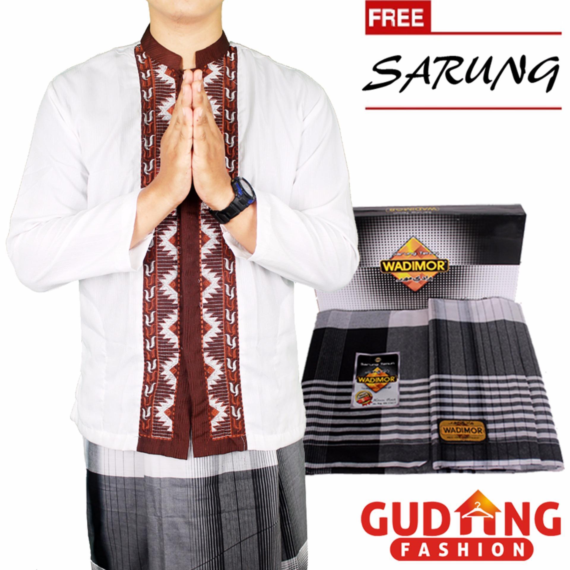 Men Muslim Long Sleeved Ethnic Shirts Baju Koko