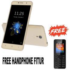 Haier Leisure L7 - 32GB - RAM 3GB - 4G LTE - (Free Handphone Fitur) - Gold