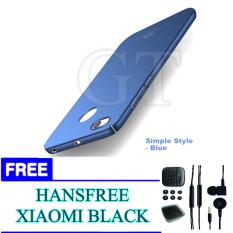 Hard Case for Xiaomi Redmi 4X + FREE Handsfree Xiaomi BLACK