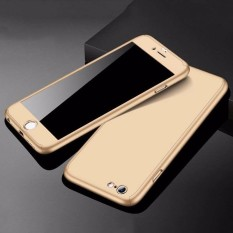 Hardcase Case 360 Iphone 5 / 5S Casing Full Body Cover + Free Tempered Glass -
