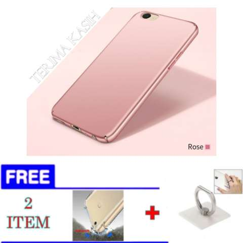 Hardcase Case For OPPO A57 / A39 Ultra Slim - FREE Softcase Anti Crack + iRing