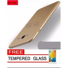 Hardcase Case For Samsung Galaxy J5 / J500 / J5 2015 Ultra Slim Shockproof Premium Matte elegan Free Tamper Glass