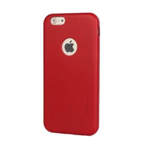 Hardcase Casing Full Body 360 iPhone 5/5S/5SE Free Tempered Glass (Merah