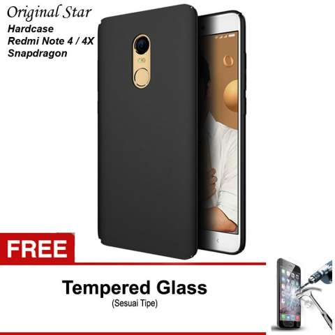 Flip Case Xiaomi Redmi Note 1 Merah Gratis Tempered Glass Daftar Source · HARDCASE Slim Matte