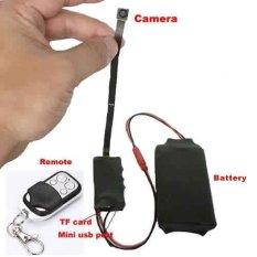 HD 1080 P DIY Modul SPY Kamera Tersembunyi Video MINI DV DVR Motionw/Remote Control. Berbagai Tombol Hitam Penutup Lensa-Intl