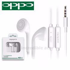 Headset OPPO MH133 Handsfree Earphone Headset OPPO  3.5mm Jack In-Ear Music Earphone - Putih