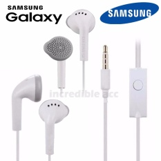 Headset Samsung Galaxy J5 2015 (J500) Handsfree Headphones Bass Audio High Qualty - Putih