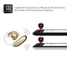 Headset UFO Bluetooth 4.1 Earpiece dengan Mikrofon Kebisingan Membatalkan Nirkabel-Intl