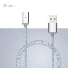 Tinggi Kualitas Tahan Goncangan Round Magnetic Pengisian Cepat Kabel USB 3 Warna-Intl