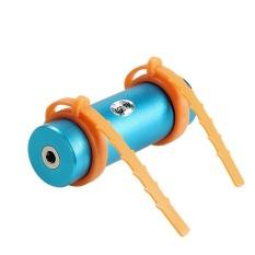 HKS Waterproof USB Plug Musik MP3 Player untuk Berenang Menyelam Air Olahraga FM 4 GB (Biru)