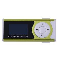 Hot Sale Mini Klip Mp3 Musik Player Sport Mp3 TF Slot Kartu dengan LED Senter + Earphone + Kabel Pengisi Daya Harga Grosir -Intl
