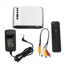 Hot Jual Terbaru YG320 Portable LED Proyektor 1080 P Rumah Teater HD TV Home Micro Mini LCD Proyektor EU Plug -Intl