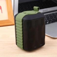 Hot Jual Aksesoris Teknologi Outdoor HIFI Stereo Bluetooth Wireless Waterproof Audio Sound Speaker AUX-Intl