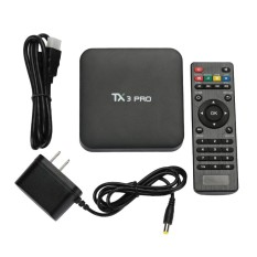 Hot Jual Aksesoris Teknologi TV Tuner Box Set Top Box TV Box Android TV Box Premium Kinerja Tinggi Android 7.1 1 GB + 8 GB HD HDTV US Plug-Intl